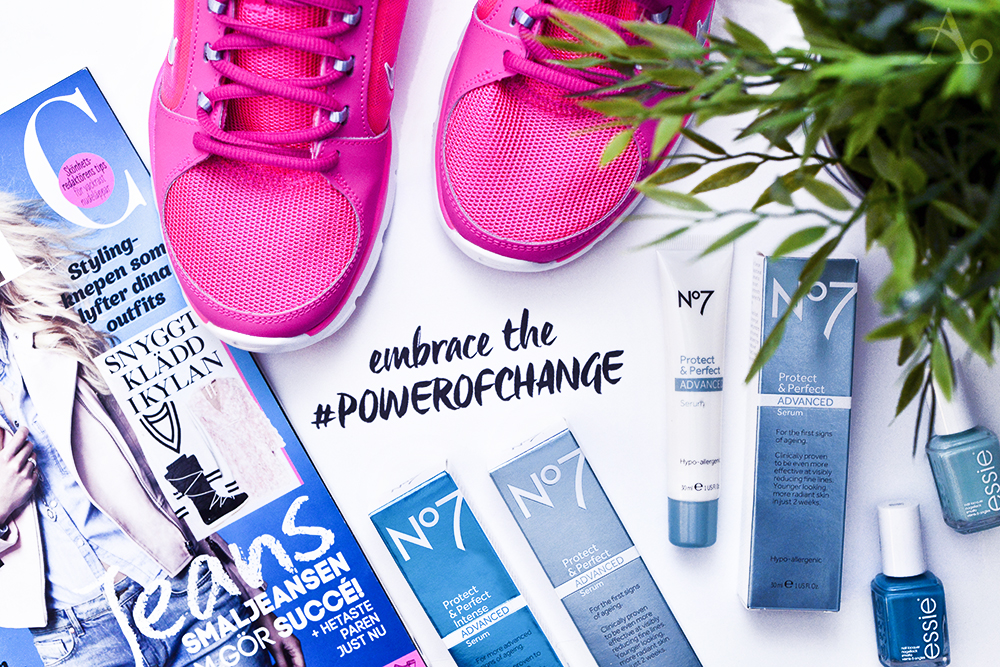 #Powerofchange med No7 Protect & Perfect Advanced Serum